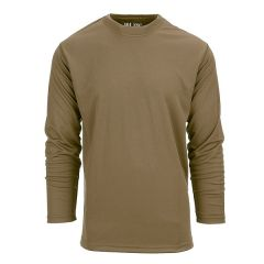 101-INC tactical shirt quick dry lange mouw coyote