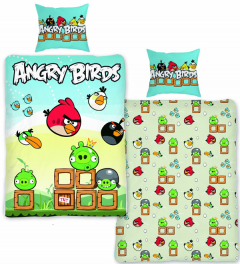 Angry Birds friends dekbedovertrek