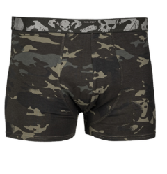 Mil-Tec boxershorts 2 pack skull dtc defence tactical camo black