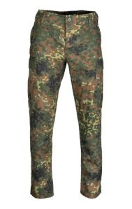 Teesar BDU broek flecktarn slim fit