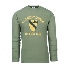 Fostex T-shirt First Cavalry Division lange mouw
