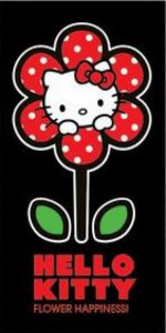 Badlaken Hello Kitty Flower