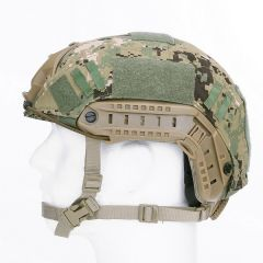Tactical helmcover ripstop digital camo