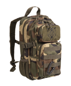 Mil-Tec US assault kids rugtas woodland 14L