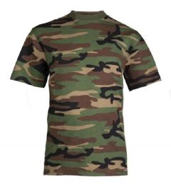 Mil-Tec US army kinder T-shirt woodland