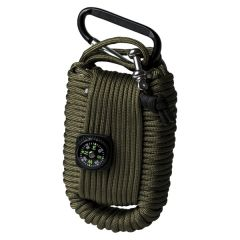 Mil-Tec paracord survival kit groen