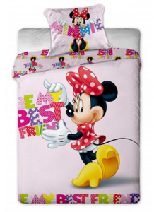 Minnie Mouse disney dekbedovertrek letters