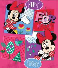 Disney Minnie Mouse fleecedeken 120x140cm