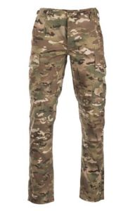 Teesar BDU broek dtc defence tactical camo slim fit